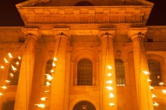 Clarendon Building at Night