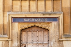 Bodleian Library Door, Oxford University