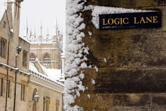 Logic Lane, Oxford, Winter