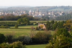 Oxford from Boars Hill, Spring