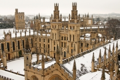 Snow Spires, All Souls College, Oxford