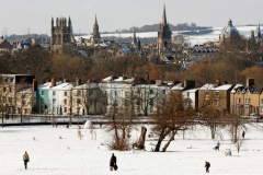 South Park Snow Scene, Oxford