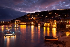 Mousehole Christmas Lights, Cornwall