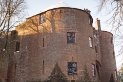 St Briavels Castle, Winter