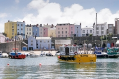 Tenby Harbour Boats, Wales