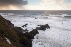 Cornish Coast, Winter