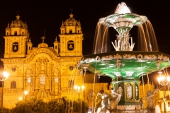Plaza de Armas, Cusco, Night
