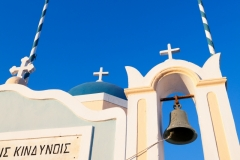 Bell Tower and Blue Sky, Oia
