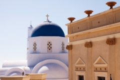 Blue Domed Church, Pyrgos