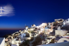 Oia by Night, Santorini