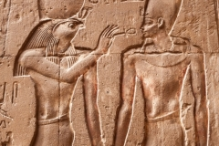 Luxor Temple Wall Carving