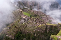 Machu Picchu from Above, Peru