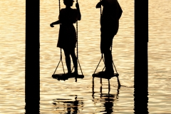 Sunset Couple, Silhouette
