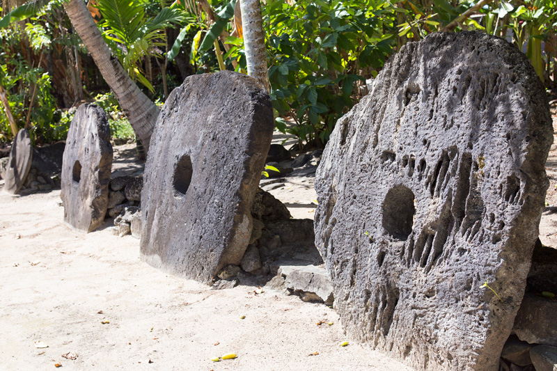 Yap stone money, Micronesia