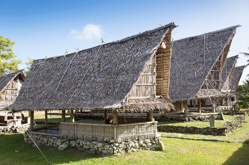 Living History Museum, Colonia, Yap